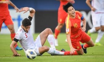 U23 Trung Quốc tạo thành tích 'xấu hổ chưa từng thấy'