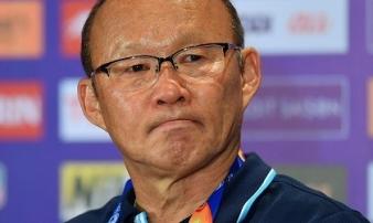 Thua đau trước U23 Triều Tiên, HLV Park Hang Seo nhận hết mọi lỗi lầm