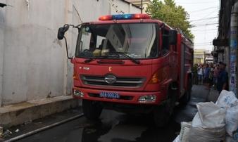 Đồng Nai: Cháy lớn ở cơ sở nuôi dạy trẻ mồ côi ở Biên Hòa vào chiều 25 Tết