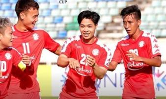 Công Phượng tỏa sáng giúp CLB TP.HCM giành điểm ở AFC Cup