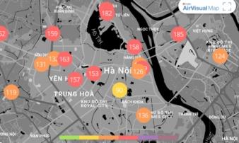 Chất lượng không khí 11/2: Hà Nội chìm trong mưa phùn rét buốt, không khí xấu