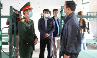 13 người bị cách ly khi thanh niên ở xã Sơn Lôi đến chơi nhà bạn gái