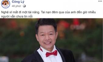 NSND Công Lý và hàng loạt sao Việt bàng hoàng NSƯT Mạnh Dũng qua đời vì bị sát hại