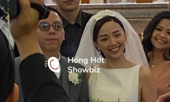 Những hình ảnh hiếm hoi trong đám cưới Tóc Tiên - Hoàng Touliver