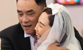 Bố Tóc Tiên hé lộ khoảnh khắc bên con gái trong hôn lễ, hiếm hoi công khai gửi lời nhắn đầy xúc động