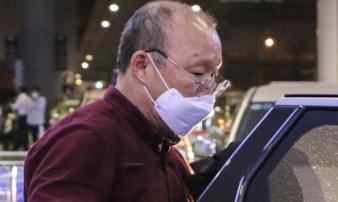 HLV Park Hang-seo chịu sự giám sát chặt chẽ của ngành y tế
