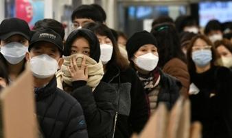 Hàn Quốc có thêm 84 ca nhiễm virus corona, tổng số 977