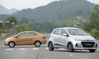 Xe Hyundai vẫn bán chạy nhất nhóm dưới 500 triệu đồng