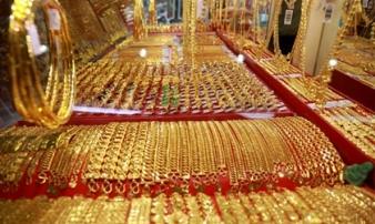 Vàng trong nước ngược dòng tăng giá