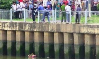 Phát hiện thi thể cô gái trẻ nổi ở mép sông