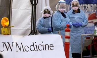 Số người chết vì virus ở Mỹ vượt vụ khủng bố 11/9, ca nhiễm gấp đôi Trung Quốc