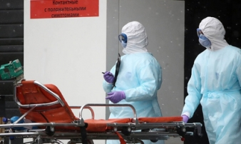 Nga tăng kỷ lục gần 1.000 ca nhiễm virus corona