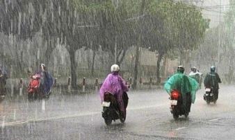 Dự báo thời tiết ngày 23/5/2020: Bắc Bộ và Bắc Trung Bộ có mưa dông mạnh, Hà Nội đề phòng ngập lụt