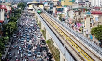 Đường sắt Cát Linh - Hà Đông hơn 1 năm không xong 1% tiến độ