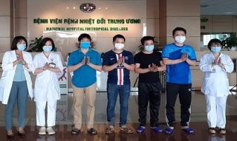 Sáng 5/6, thêm 3 bệnh nhân được công bố khỏi bệnh, cả nước điều trị thành công 305 ca Covid-19