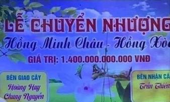 Sự thật 'ngã ngửa' về cây lan đột biến hồng minh châu có giá 1.400 tỷ đồng