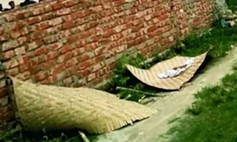 Đau xót cảnh bé gái sơ sinh bị quật mộ và bỏ bên vệ đường vì kẻ cuồng tín