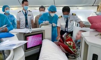 Bệnh nhân 91 an toàn trở về quê hương