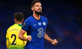 Giroud ghi bàn duy nhất, Chelsea tạm cắt đuôi MU và Leicester trong cuộc đua Top 4