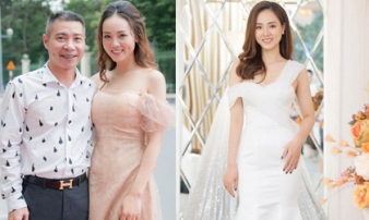 Bạn gái kém 15 tuổi của Công Lý bất ngờ khoe ảnh diện váy cưới, ngầm thông báo tin vui sắp diễn ra