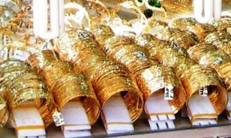 Giá vàng hôm nay 11/8: Lùi 'một bước', vàng vẫn rình rập tăng giá trở lại