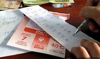 Triệt xoá đường dây tổ chức đánh bạc dưới hình thức lô đề quy mô lớn ở Thanh Hoá