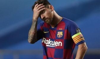 3 năm chịu 3 thảm bại không tưởng, Messi sẽ tìm đường rời khỏi Barcelona?