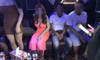 Hơn chục nam nữ phê ma túy trong nhà hàng ở trung tâm Sài Gòn