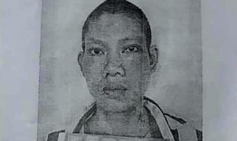 Công an truy nã phạm nhân 34 tuổi nhiễm HIV phá còng bỏ trốn khỏi bệnh viện
