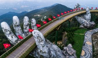 Khu du lịch Bà Nà Hills - Đà Nẵng mở cửa trở lại sau dịch Covid-19