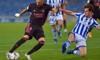 Real gây thất vọng ở trận ra quân La Liga