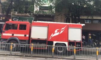 Cháy khách sạn ở trung tâm Sài Gòn, nhiều người hoảng loạn tháo chạy