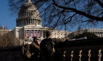 Mỹ bắt đối tượng mang theo súng và 500 viên đạn tại thủ đô Washington DC