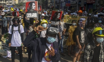 Sáu người biểu tình bị bắn chết tại Myanmar