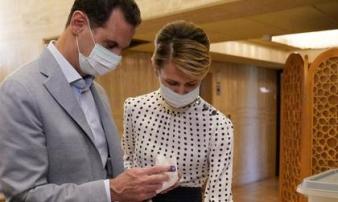 Tổng thống Syria và vợ mắc Covid-19