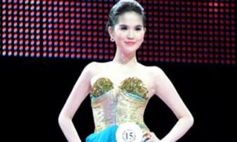 Khoảnh khắc Ngọc Trinh đăng quang Hoa hậu 10 năm trước hot trở lại, body đẳng cấp từ ngày xưa