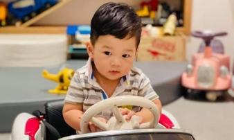 Chồng đại gia của Đặng Thu Thảo tiết lộ chân dung cậu con trai gần 1 tuổi