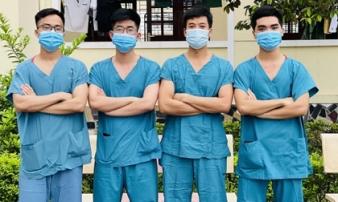 Hàng trăm sinh viên Quân y thần tốc hỗ trợ Bắc Giang chống dịch, làm việc 12-15 tiếng/ngày không nghỉ