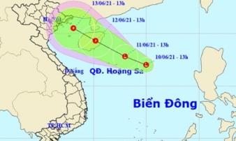 Xuất hiện vùng áp thấp trên Biển Đông, Bắc Bộ mưa to đến rất to, nguy cơ lũ quét và sạt lở đất