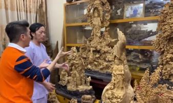 Sở hữu phòng trầm hương trị giá cả trăm tỷ đồng thế này nhưng NS Hoài Linh vẫn bị tố nợ tiền gỗ