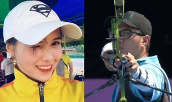 Đồng đội hot girl bắn cung bỏ lỡ cơ hội tạo bất ngờ, sớm dừng bước trước á quân Olympic
