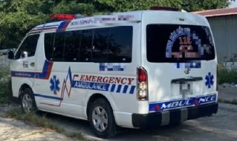 Xe cứu thương 'dỏm' chở người từ vùng dịch về làm lây lan Covid-19