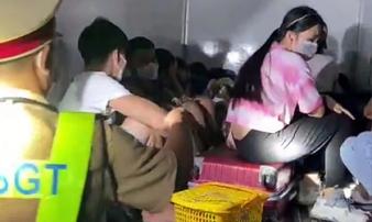 Lái xe giấu 15 người trong thùng xe đông lạnh 'thông chốt' kiểm dịch COVID-19, công ty vận tải Thành An nói gì?