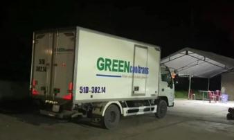 Bất ngờ phát hiện 15 người trong thùng xe đông lạnh ở Bình Thuận