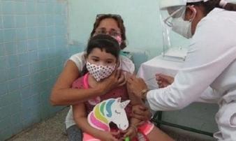 Quốc gia đầu tiên tiêm vắc xin phòng Covid-19 cho trẻ trên 2 tuổi