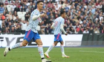 Ronaldo bùng nổ, De Gea cản 11m, Man United đánh bại West Ham với kịch bản nghẹt thở