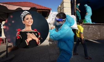 Hoa hậu H'Hen Niê lăn xả làm việc, bê bao gạo nặng 50kg, được gọi hoa hậu bốc vác