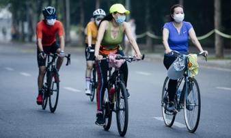 Từ 28/9, Hà Nội cho phép hoạt động thể dục thể thao ngoài trời, mở cửa trung tâm thương mại