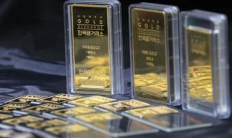 Giá vàng hôm nay 15/10: Vàng tăng giá mạnh, lên đỉnh trong 4 tuần