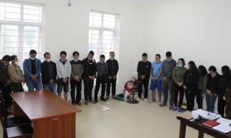 Hơn 60 cảnh sát vây ráp sới bạc khủng trong đồi keo do 'đại ca' có 9 tiền án cầm đầu